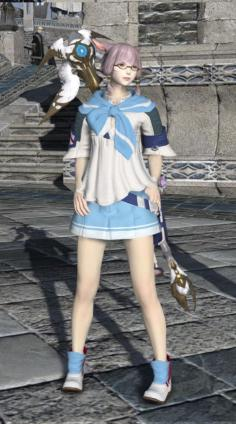 Boarskin skirt