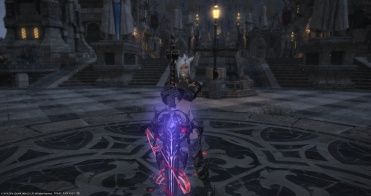 The Metallic Red matches sword glow!