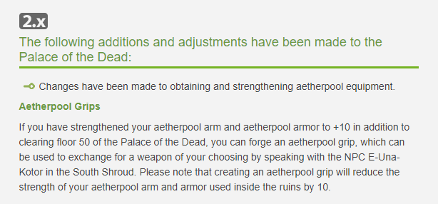 Aether Pool Weapons